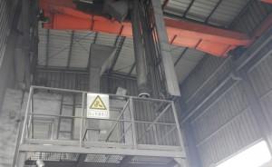 天池能源五彩湾电厂进煤系统
